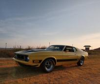 Ford Mustang Mach I Fastback 1972 3 Coupé V8 302ci